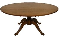 T03 Pedestal Dining Table
