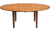 T05 Square Tapered Leg Dining Table