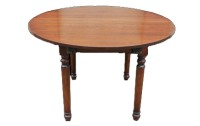 T09 Turned Leg Dining Table
