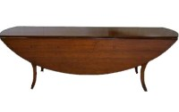T23 Cabriole Leg Dining Table